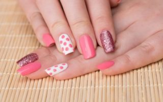 78+ Chic Pink And White Nail Designs To Try