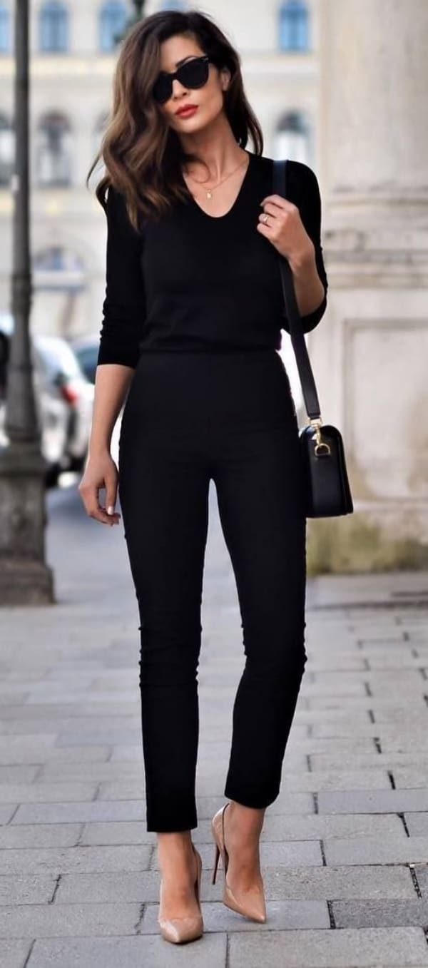 Ways To Style Your Black Denim For Work