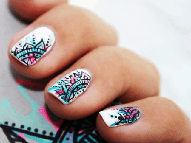 35 Simple Summer Nail Designs and Ideas for 2018