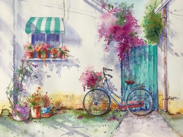 55 Very Easy Watercolor Painting Ideas For Beginners
