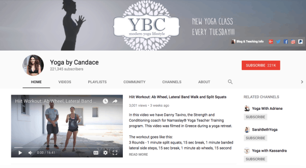 Most Popular Yoga Youtube Channels for Weight Loss and Fitness