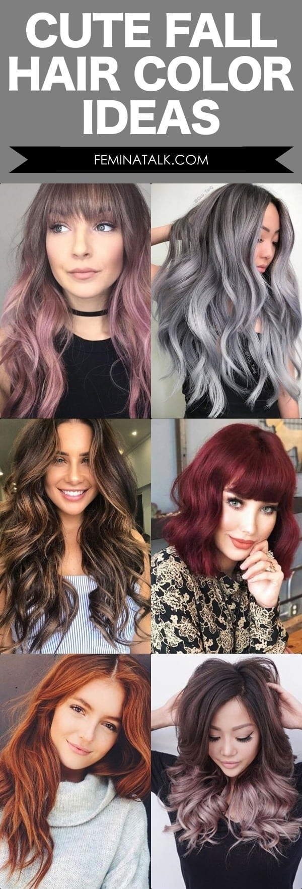 Cute Fall Hair Color Ideas