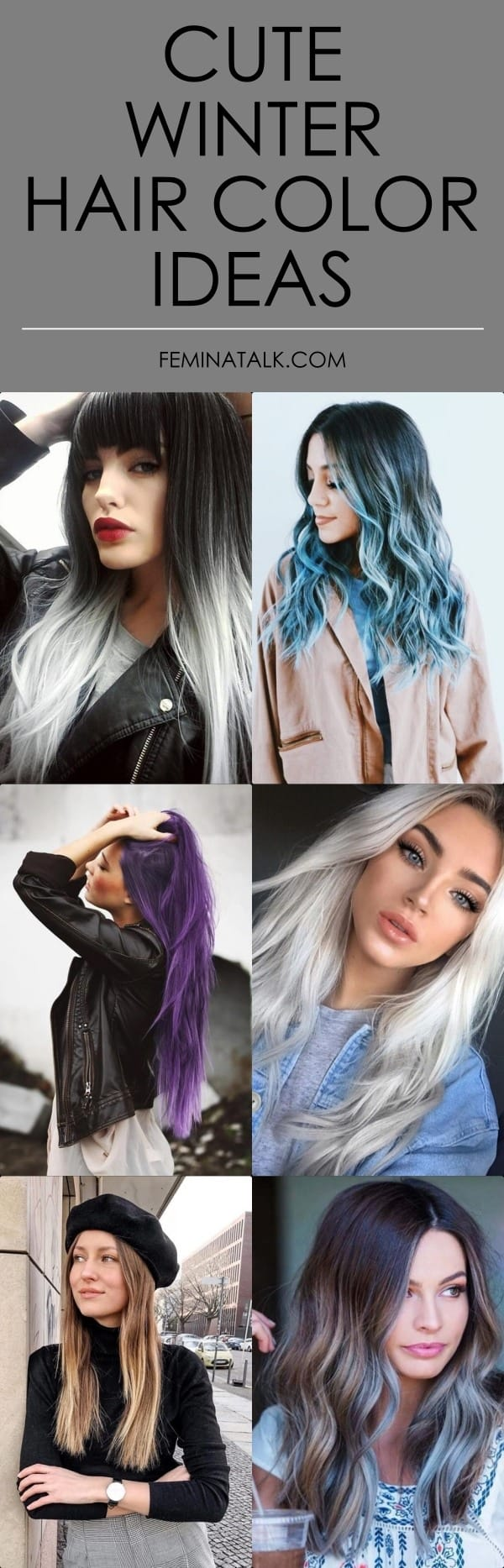 Cute Winter Hair Color Ideas