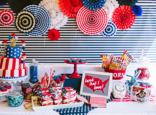 60 Fun 4th of July Decoration Ideas For Outdoor Party