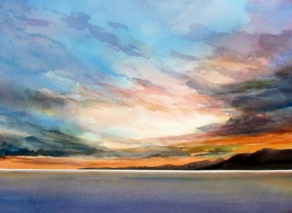 Easy Watercolor Landscape Painting Ideas for Beginners