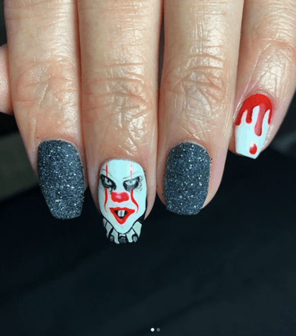 Halloween Nails Art Designs