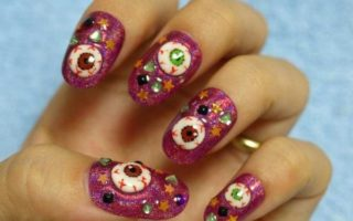 80 Ghostly Halloween Nail Art Designs For 2021