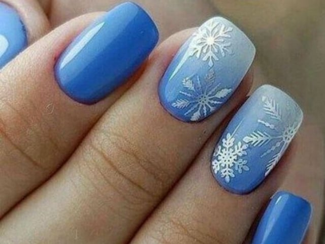 40 So Pretty Christmas Nail Art Designs and Colors 2019