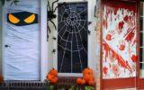 Spooky Halloween Party Door Decoration Ideas