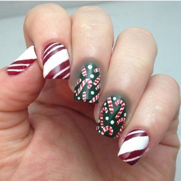 Christmas nail art designs