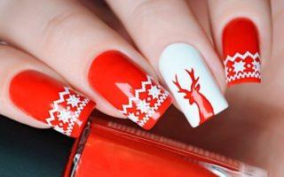100+ Pretty Christmas Nail Art Designs In 2021