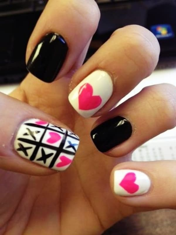 Cute & Trending Valentines Day Nail Art Designs