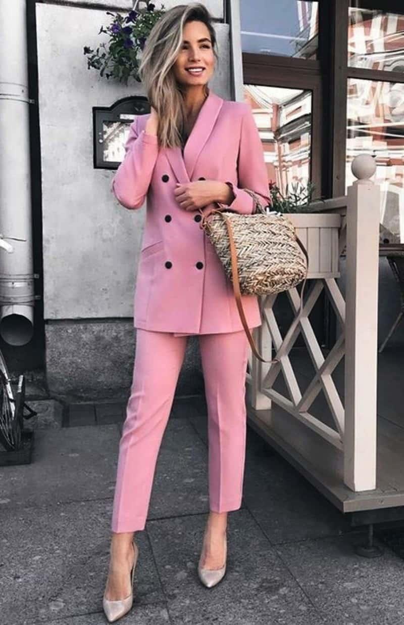 Women Pant suit outfits