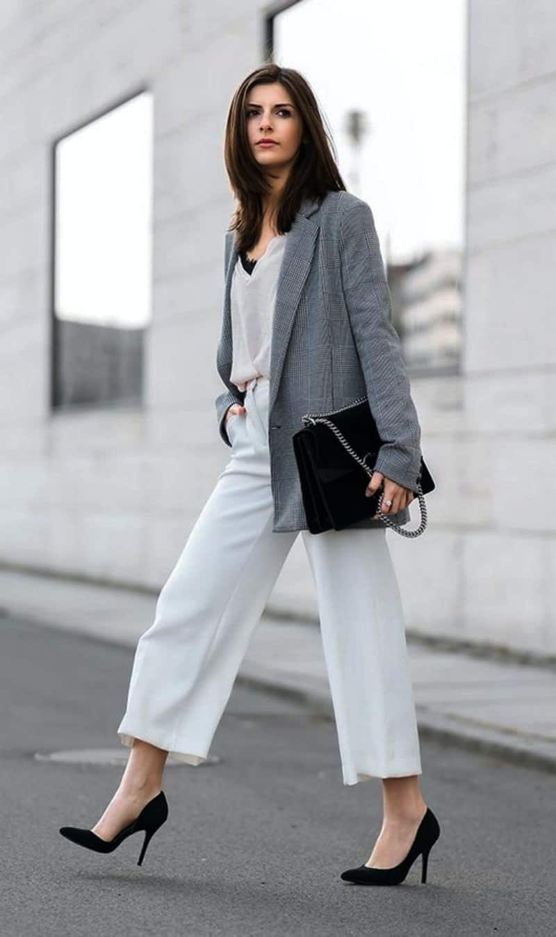 blazer outfits for work