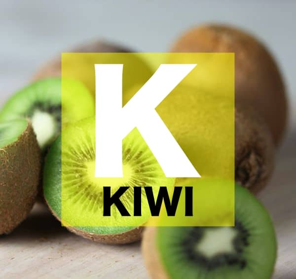 List of Fruits Names starts with K
