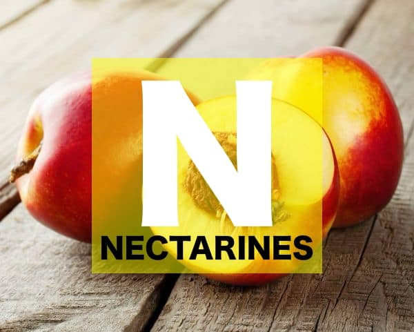 List of Fruits Names starts with N