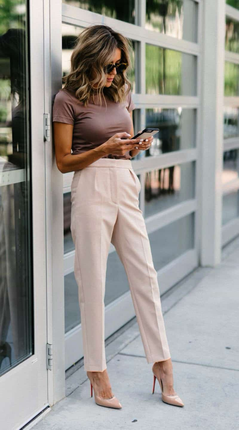 Trouser outfits for work