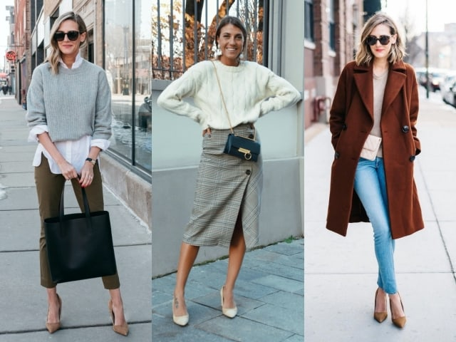 39 Casual Winter Work Outfits for Professionals 2020-21