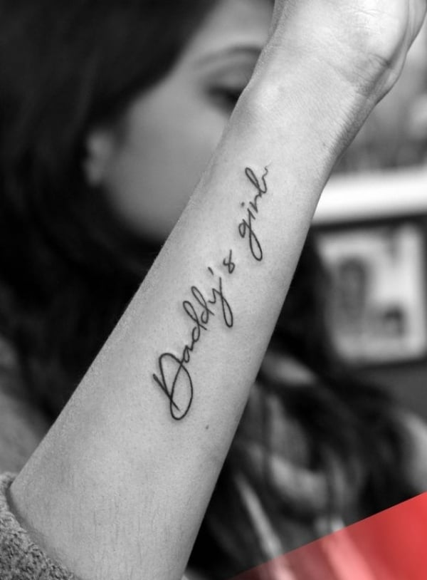 Mom and Dad Tattoos with Powerful Meanings