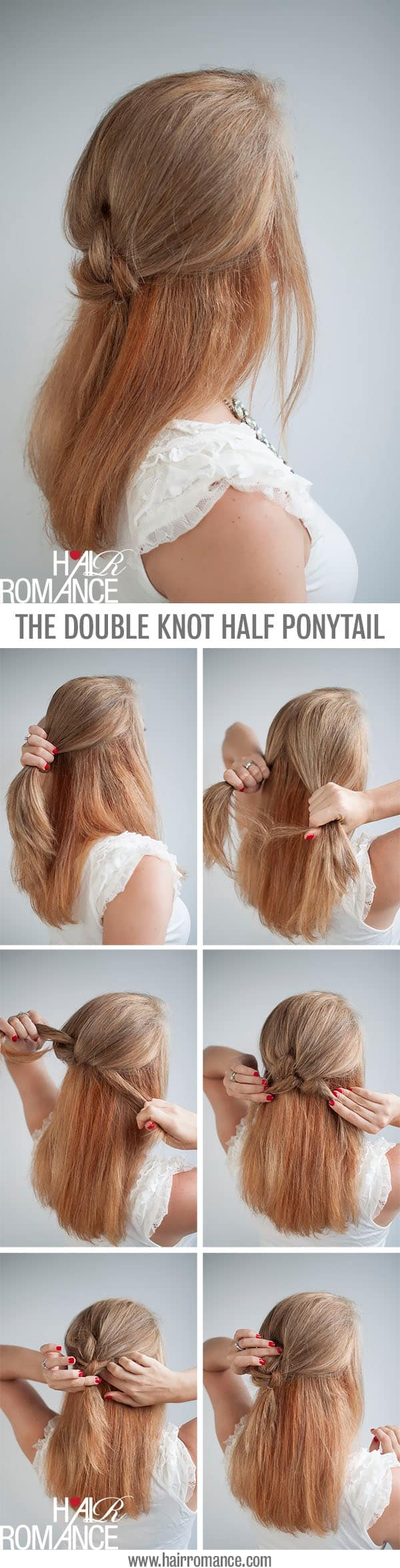 easy 5 minute hairstyles