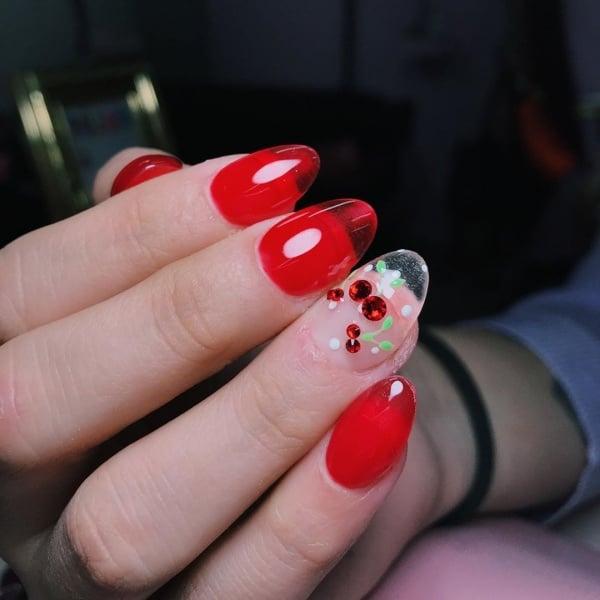 valentine's day nail art designs