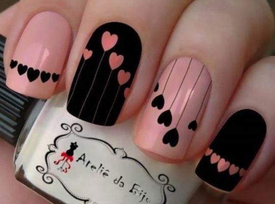 80+ Cute Valentine's Day Nail Art Designs